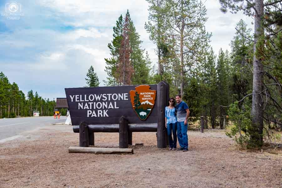 Entrada West do Yellowstone Park