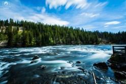 Pescaria em Yellowstone