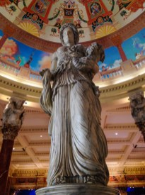 Interior do Caesars Palace