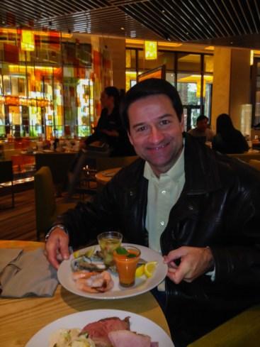 O buffet Bacchanal do artigo Comer em Las Vegas
