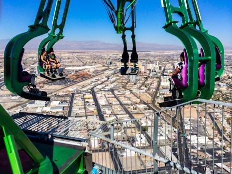 Montanha Russa Stratosphere em Las Vegas