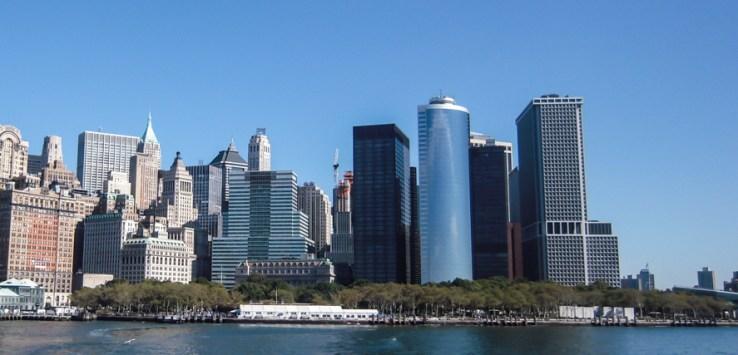 Vista do Skyline de Manhattan como Melhores Passeios de Nova York