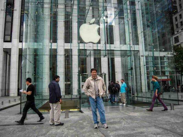 Loja da Apple na 5a avenida em Nova York
