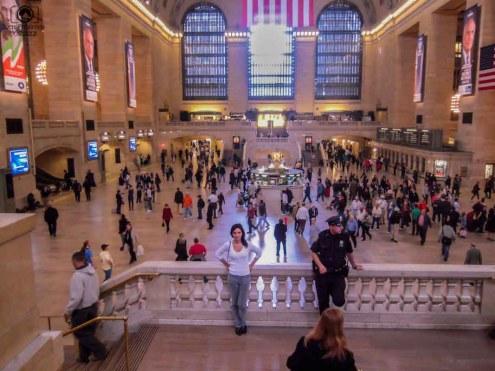 Vista da Central Station em o que fazer em Nova York