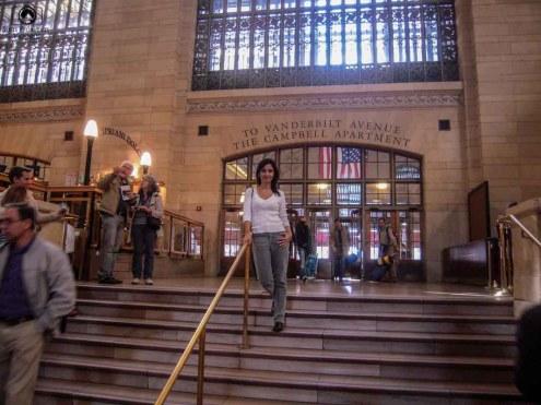 Saída da Central Station em Passeios em Nova York