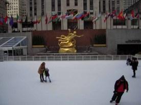 Pista de Patinação Rockefeller Center