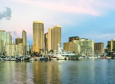 Bela Vista da Marina em Oahu
