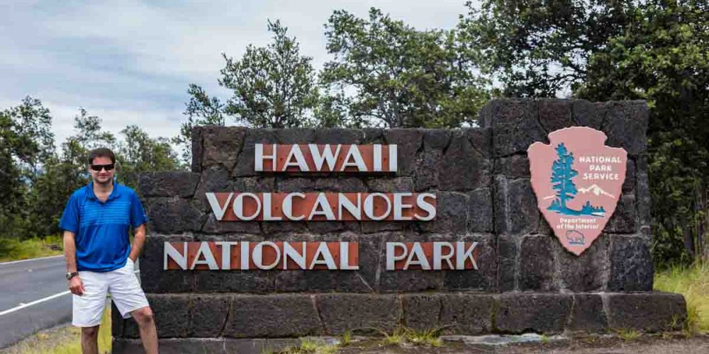 Entrada do Parque dos Vulcões