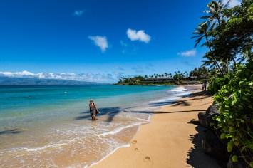 Praia de Napili em Maui