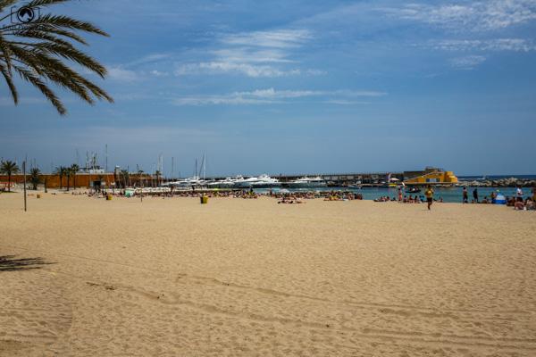 Praia de Barceloneta em o que fazer em Barcelona