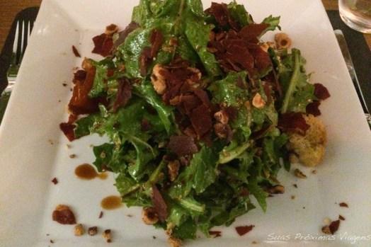 Salada no Kalita em Mykonos