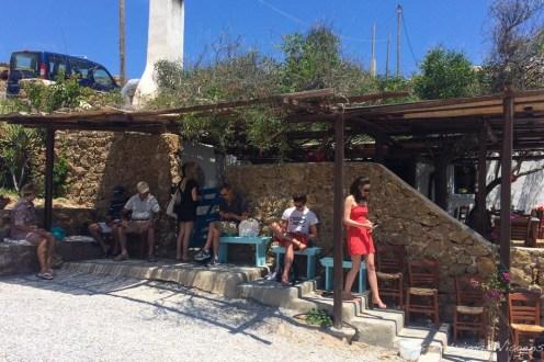 Kiki's Tavern em Mykonos