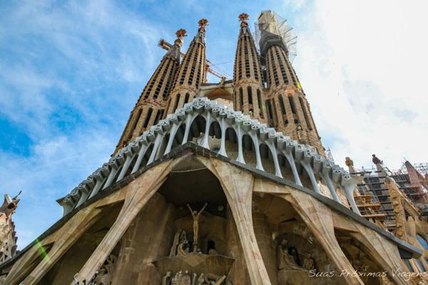 Sagrada Família em O que fazer em Barcelona