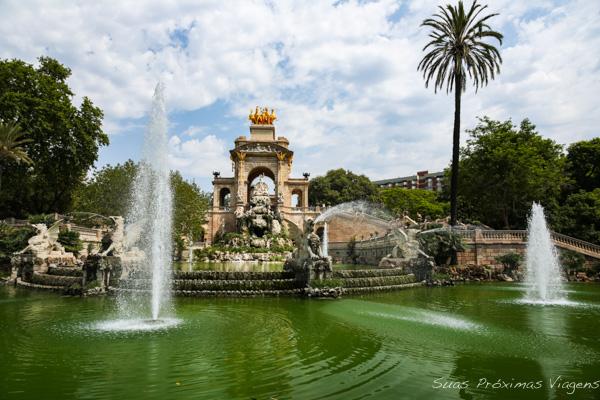 Fonte no Para Ciutadella em Barcelona