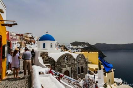 A igreja de Oia - O que fazer em Santorini