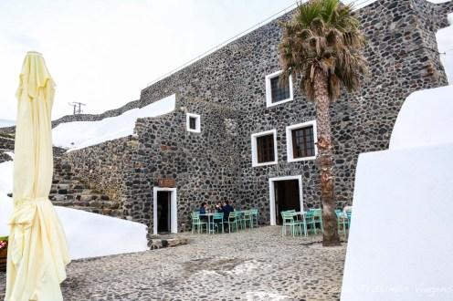 Vinícola Venetsanos em Santorini