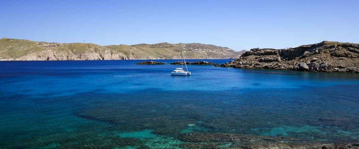 A beleza do Mar em O que fazer em Mykonos