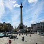 Coluna de Nelson na Trafalgar Square em O Que Fazer em Londres