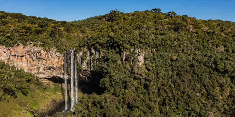 Cachoeira do Caracol na Serra Gaúcha