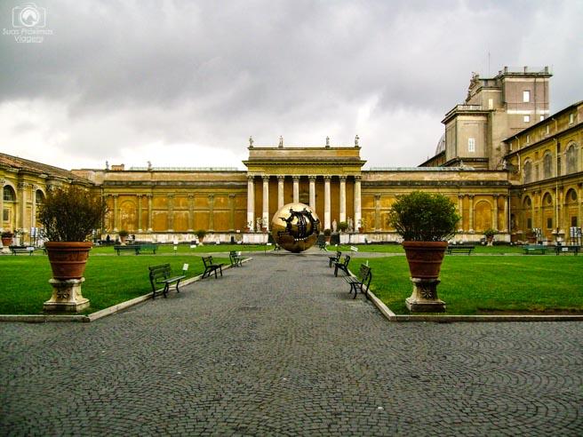 Interior dos Museus do Vaticano em o que fazer em Roma