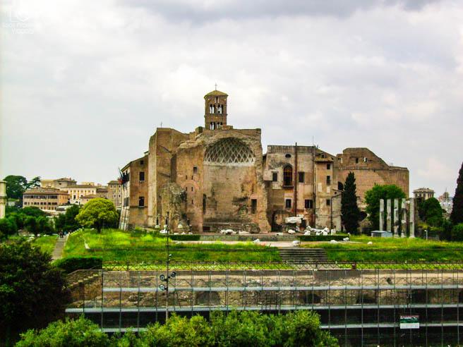 Ruínas de Roma em o que fazer em Roma 1