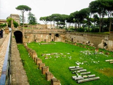 Monte Palatino em Melhores Dicas de Roma