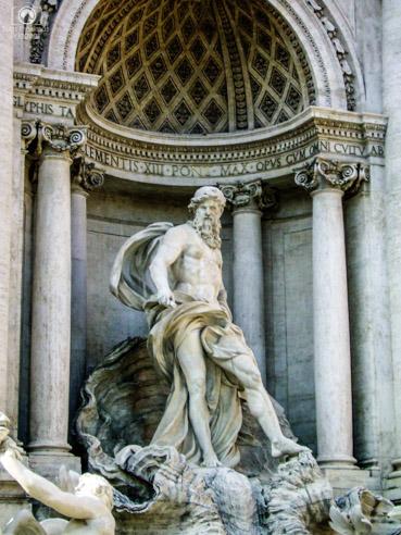 Foto da Fontana de Trevi em o que fazer em Roma