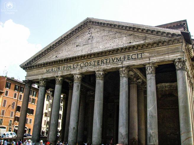 Pantheon em o que fazer em Roma