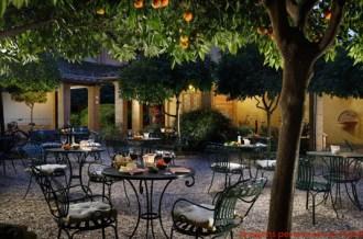 Área de Estar no Hotel Santa Maria em Melhores Dicas de Roma