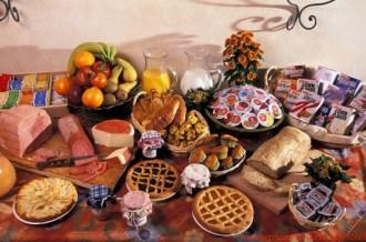 Café da Manhã no Hotel Santa Maria em Melhores Dicas de Roma
