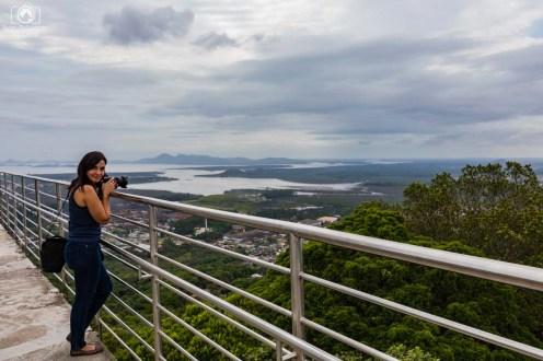 Turistas no Mirante em Joinville