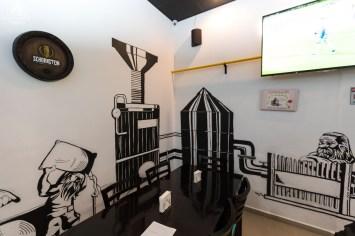 Interior do Mad Dwarf em Joinville