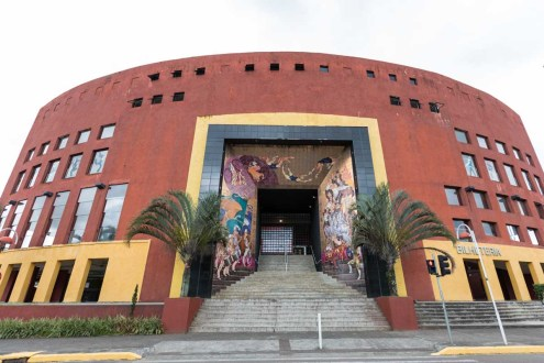 Fachada da Escola Bolshoi em Joinville