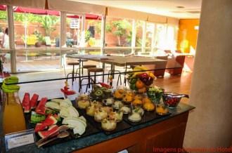 Buffet do Café da Manhã do Sant Angelo em Onde se hospedar em Barcelona