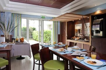 Restaurante do Adagio em Viagem para Paris