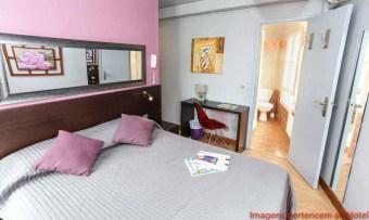 Quarto Casal Le Village Montmartre em Onde se hospedar em Paris