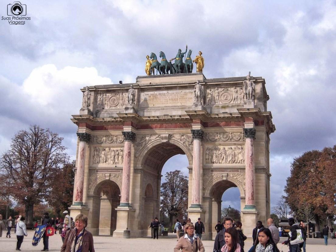 Arc Carroussel du Louvre em Pontos Turísticos de Paris