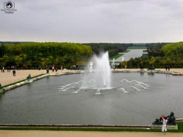 Fonte no Château de Versailles