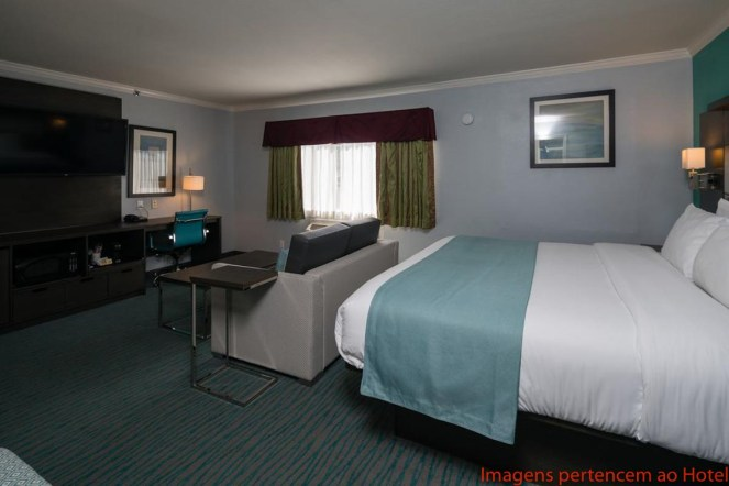 Suite King Deluxe do Days Inn em Onde se hospedar em San Francisco