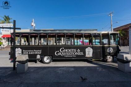 ônibus turístico em Key West