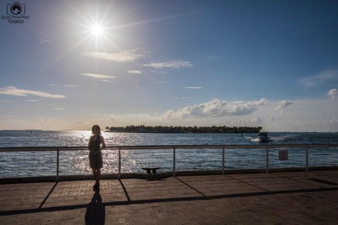 Pôr do Sol no Mallory Square em Key West