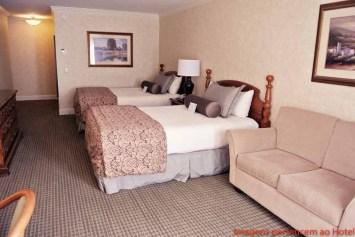 Quarto Cama dupla Cow Hollow Inn & Suites em onde ficar em São Francisco California