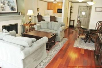 Suite completa do Cow Hollow Inn & Suites em onde ficar em São Francisco Califórnia