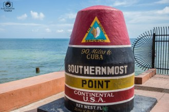 Ponto mais ao Sul dos EUA nos Florida Keys