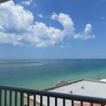 Vista da Suite Double Queen do Shephard's Resort em Onde Ficar em Clearwater