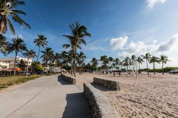 Calçadão de Miami Beach pontos de interesse