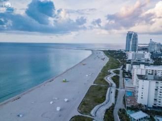 Vista Aérea de South Beach