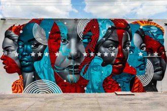 Exposição do Wynwood Walls em Miami
