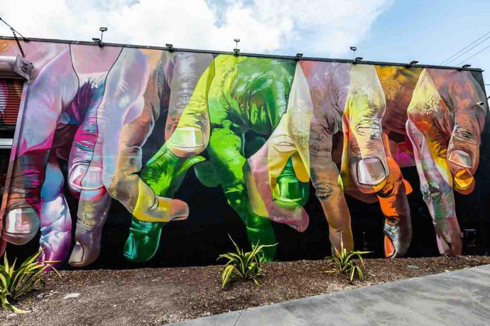 Painel Interno Wynwood Walls em Turismo em Miami