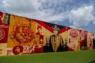 Painel no Wynwood Walls em O que fazer em Miami